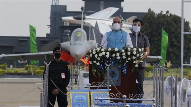 Ấn Độ chính thức vận hành phi đội Rafale