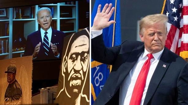Biểu tình và cuộc chạy nước rút bầu cử Mỹ