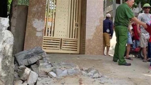 Sập tường dân, học sinh tử vong: Tác động nhẹ?