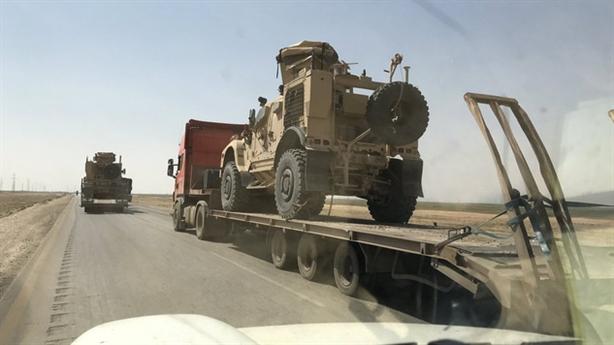 Mỹ tăng cường vũ khí, hậu cần ở Đông Bắc Syria