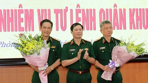 Thủ tướng bổ nhiệm nhiều nhân sự cấp cao Bộ Quốc phòng