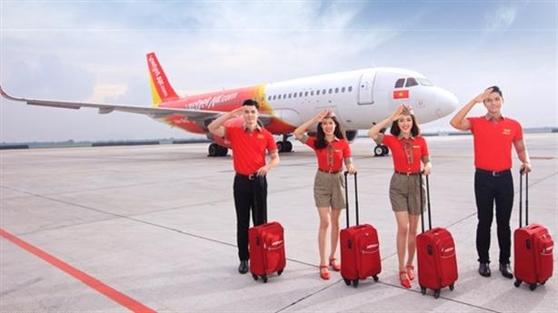 Vietjet tăng chuyến và khôi phục đường bay tới Đà Nẵng