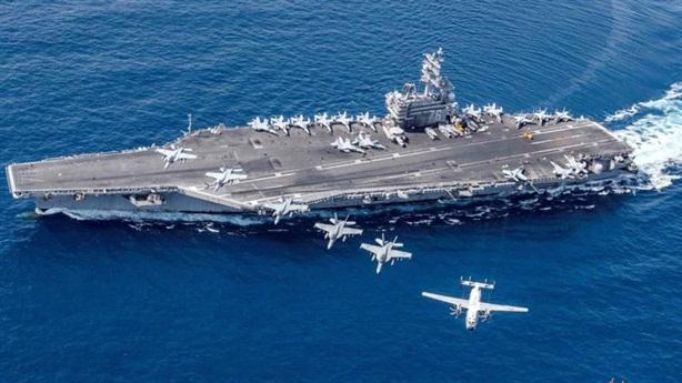 Tàu sân bay Mỹ sẽ hoạt động ngoài tầm tên lửa