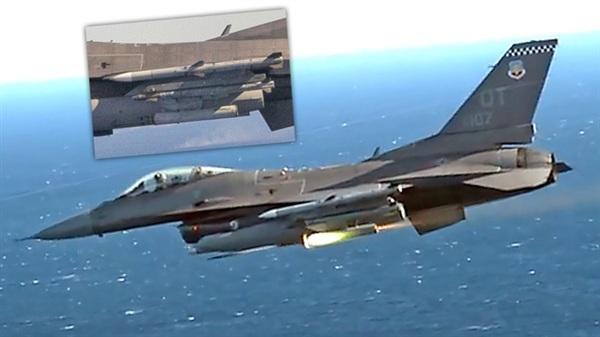 F-16 Mỹ đánh chặn không cần phóng tên lửa đối không