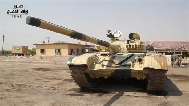 Iraq tích cực phục hồi xe tăng T-72M1 từ