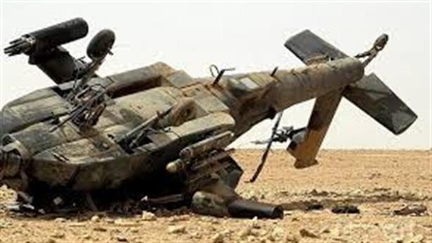 Trực thăng Apache Mỹ gặp nạn ở Syria