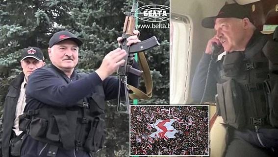 Ông Lukashenko: Mỹ phí 10 năm chuẩn bị Cách mạng màu Belarus