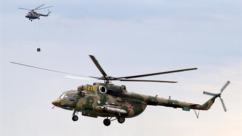 Trực thăng Nga có radar bức xạ viba độc nhất vô nhị