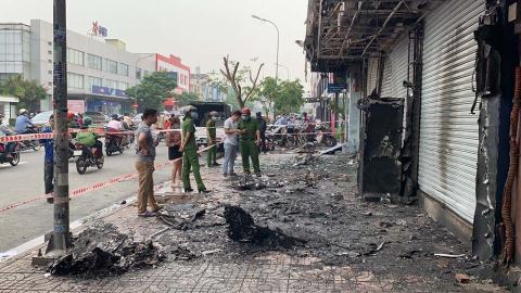 Cháy chi nhánh ngân hàng Eximbank: Đốt để xem cháy