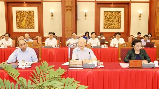 Tổng Bí thư chủ trì làm việc với Thành ủy Hà Nội
