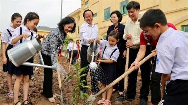 Vinamilk và hành trình trồng cây, chống ô nhiễm môi trường