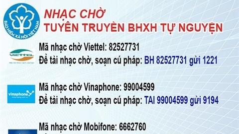 Quảng Nam: Tuyên truyền BHXH thông qua nhạc chờ trên điện thoại