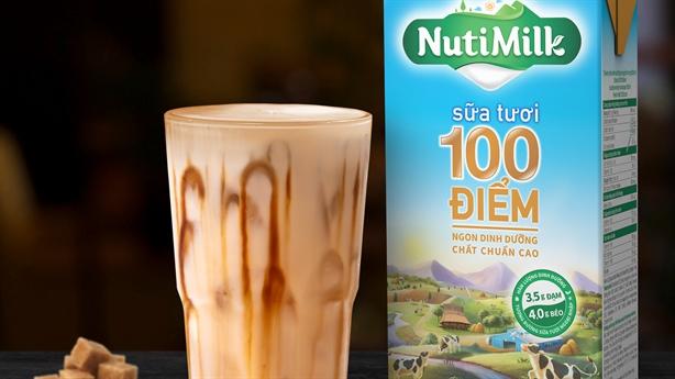 Sữa tươi chuẩn ngoại nhập – dấu ấn mới của NutiFood