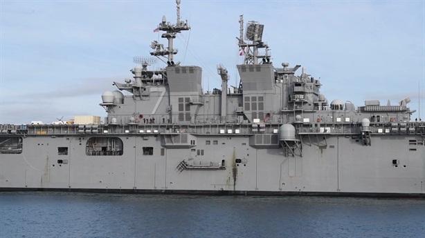 Sức tấn công kinh ngạc tàu tấn công đổ bộ Mỹ