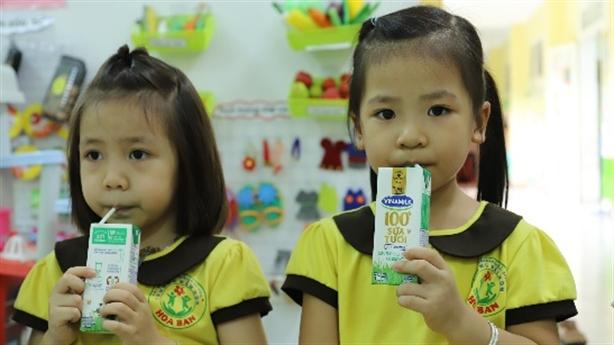 Sữa học đường giảm gánh lo cho phụ huynh giữ mùa dịch