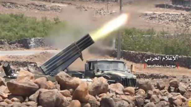 UAV Nga chỉ thị mục tiêu giúp Syria khai hỏa chính xác