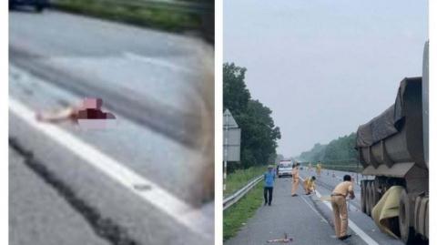 Nhảy khỏi ôtô lao xuống đường cao tốc: Bỏ lại vợ trẻ