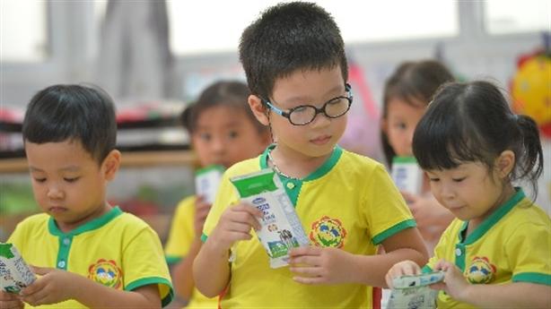 Sữa học đừng đến trường cùng trẻ trong năm học mới