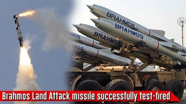 Ấn Độ bất ngờ phóng tên lửa BrahMos tăng tầm
