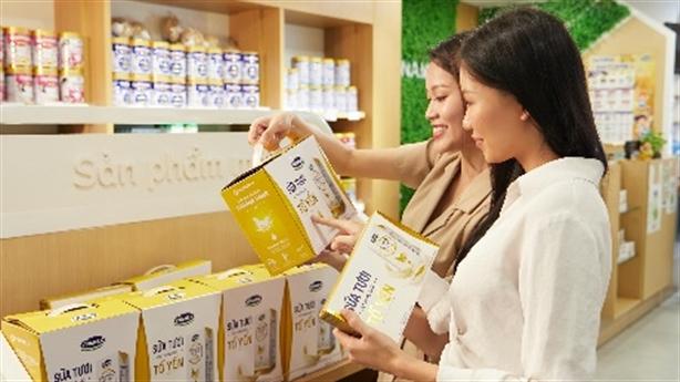 Vinamilk thuộc top 1000 thương hiệu hàng đầu châu Á