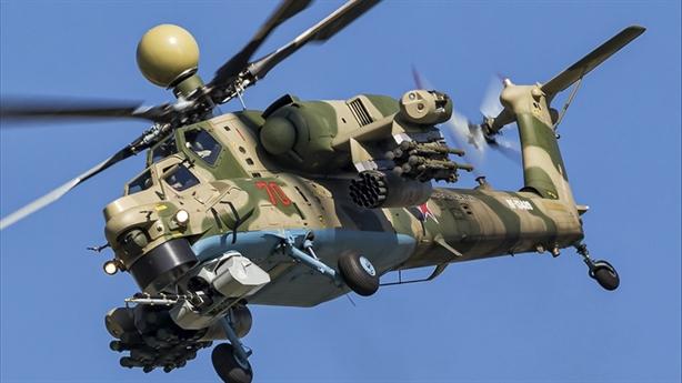 Mi-28NM sở hữu đòn đánh mẫu mực bằng UAV