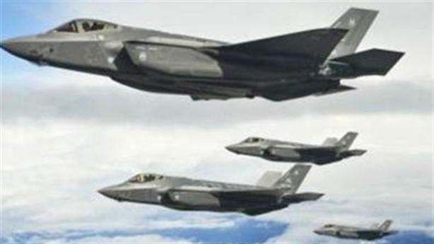 F-35 bỏ chạy khỏi trận địa vì gặp cơn giông
