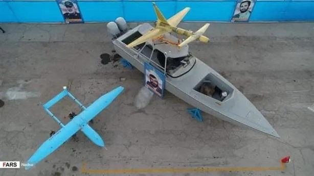 UAV giúp tàu cao tốc Iran ra đòn đánh mới