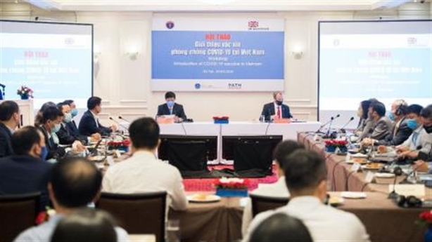 Anh giới thiệu vắc xin covid-19 tại Việt Nam