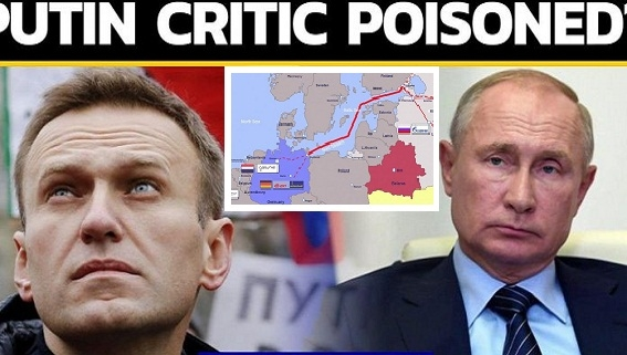 Đức trừng phạt Nga vụ Navalny, không mắc mưu phá Nord Stream-2