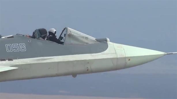Video Su-57 thực hiện bài thử chưa từng có