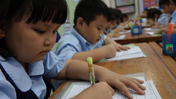 Bài tập về nhà cho HS lớp 1: Luyện tập tự nguyện