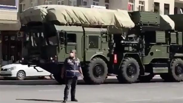 Video Thổ đưa S-400 đến bờ Biển Đen chuẩn bị bắn