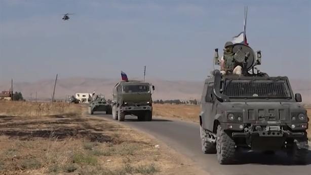 Nga tăng cường hỏa lực khi tuần tra Al-Hasakah