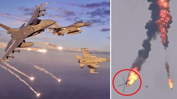 Báo Mỹ xác thực F-16 Thổ ở sân bay gần Nagorno-Karabakh