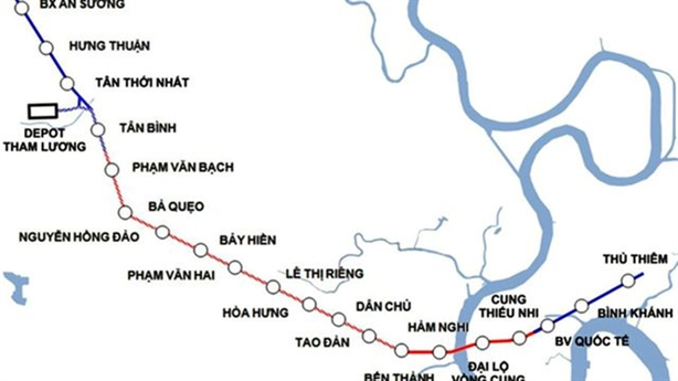 TP.HCM thu xếp xong khoản vốn bị đội của metro số 2