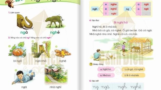 Tiếng Việt 1 nhiều từ khó, đọc trúc trắc: Cứ bình tĩnh