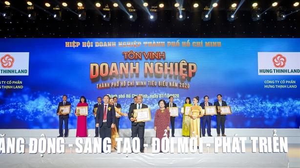 Tập đoàn Hưng Thịnh thắng lớn với loạt giải thưởng
