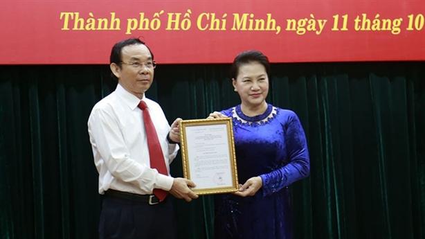 Giới thiệu ông Nguyễn Văn Nên để bầu làm Bí thư TP.HCM