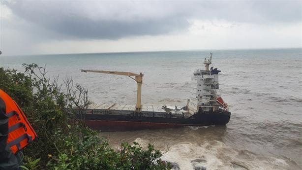 Tàu lạ trôi dạt vùng biển Thừa Thiên-Huế là tàu nào?