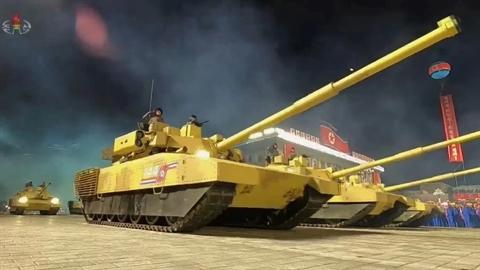 Triều Tiên ra mắt tăng 'kết hợp T-14 Armata và M1 Abrams'