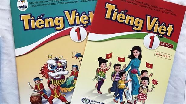 Rà soát sách Tiếng Việt lớp 1: Khẳng định khách quan
