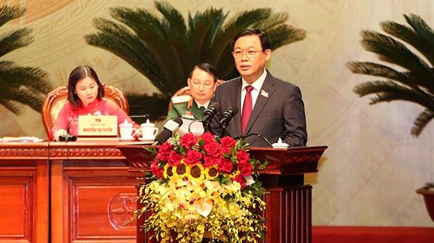 Ông Vương Đình Huệ đắc cử Bí thư Thành ủy Hà Nội