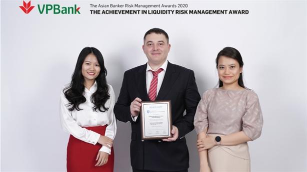 VPBank nhận giải thưởng danh giá về quản trị rủi ro