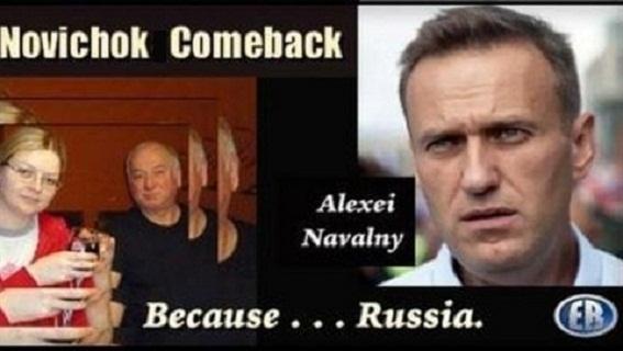 Vụ 'Nga đầu độc Navalny': Không thấy Novichok cũng...trừng phạt