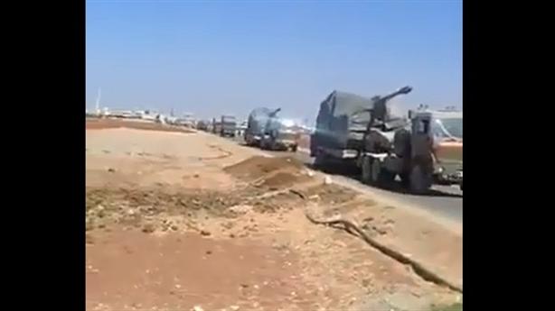Tăng Sabra, pháo T155 đến Idlib phòng Nga tấn công