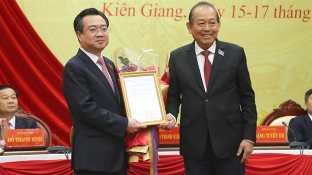 Ông Nguyễn Thanh Nghị nhận quyết định bổ nhiệm làm thứ trưởng