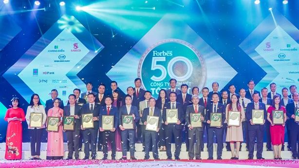 DXG lọt Top 50 công ty niêm yết tốt nhất Việt Nam
