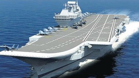 Ấn Độ đóng tàu sân bay...17 tỷ USD