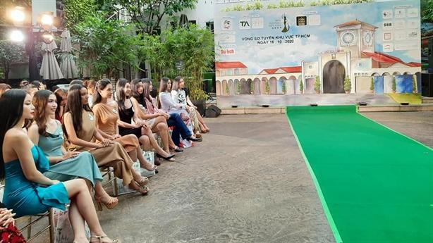 Vòng thi sơ khảo Miss Tourism Vietnam 2020 tại khách sạn Rex