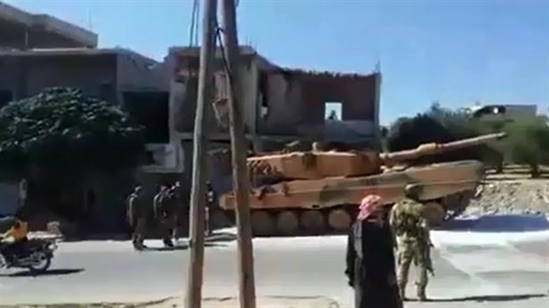 Leopard 2A4 Thổ liều lĩnh quay lại Syria